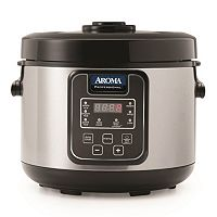 Aroma 20 cupStainless Steel Digital Rice Cooker