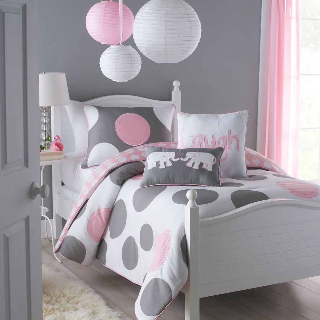 VCNY Polka-Dot Parade Comforter Set