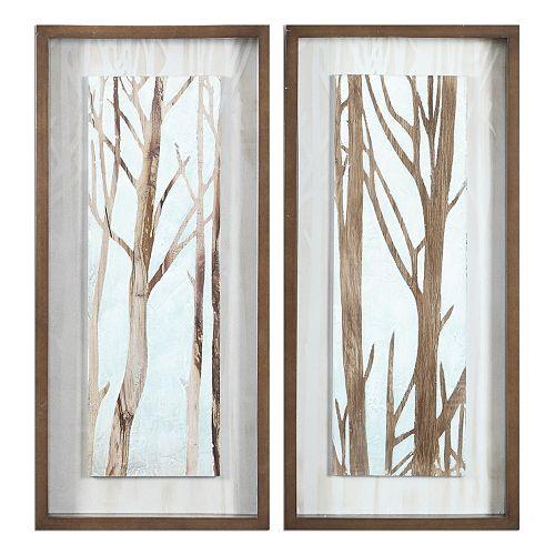 Tree Focus Framed Wall Art 2-piece Set