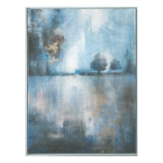 Lake At Dusk Canvas Wall Art
