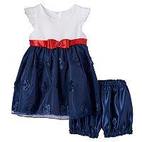 Baby Girl Princess Faith Bow Dress
