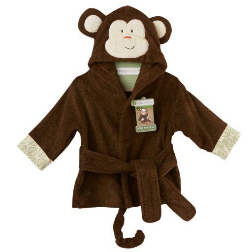 Baby Aspen 0-9 Months Animal Terrycloth Robe