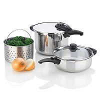 Fagor Innova Stainless Steel Pressure Cooker Set
