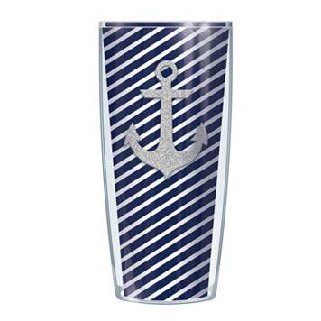Signature Tumblers Anchor Stripes 16-oz. Insulated Tumbler