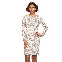 Women's Jessica Howard Lace Sheath Dress