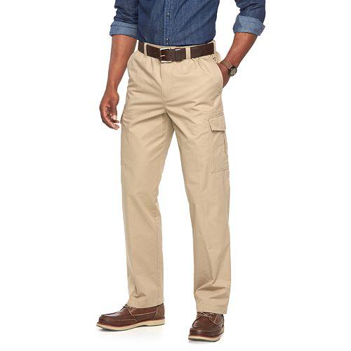 Men's Croft & Barrow® Stretch Comfort Twill Cargo Pants