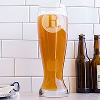 Cathy's Concepts 50-oz. Monogram Pilsner Glass