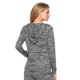 Women's Juicy Couture Embellished Marled Hoodie