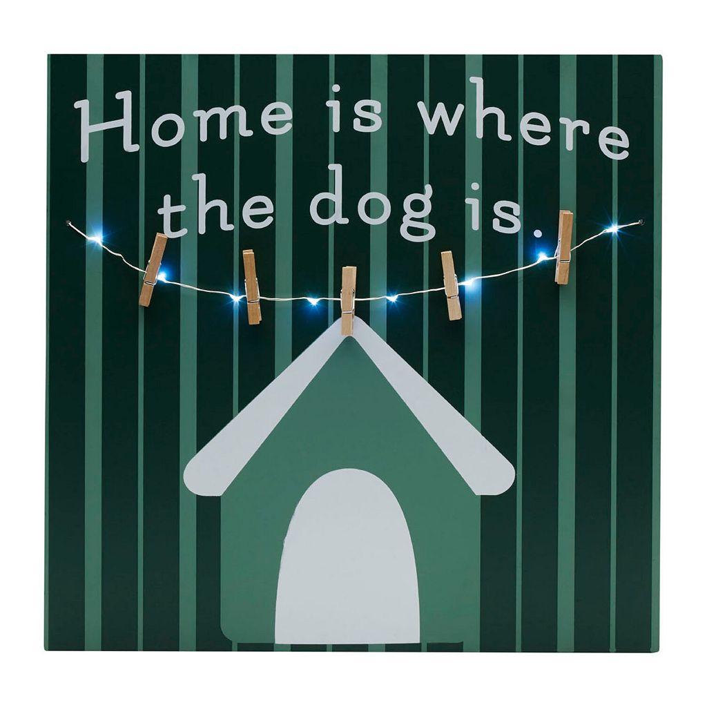 Melannco LED ''Dog'' Photo Clipboard