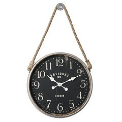 Bartram Rope Wall Clock