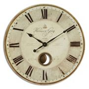 Harrison Gray Wall Large Clock