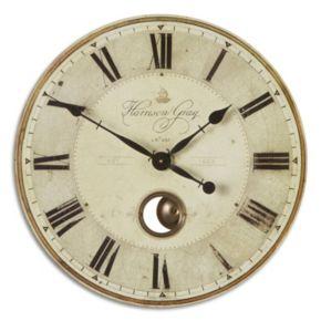 Harrison Gray Wall Small Clock