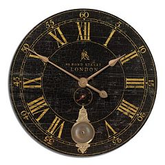 Uttermost Bond Street Wall Clock