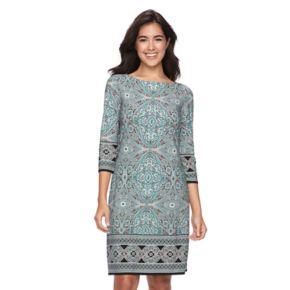 Women's Suite 7 Mosaic Shift Dress