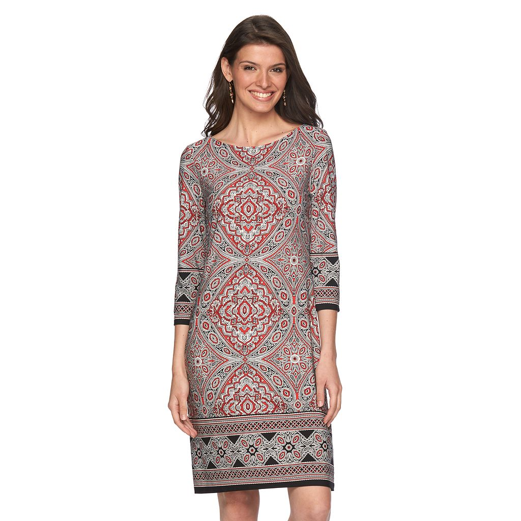 Women's Suite 7 Mosaic Shift Dress