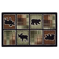Brumlow Mills Lodge Plaid Rug