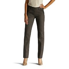 Lee Ivy Slim Straight-Leg Dress Pants - Women's
