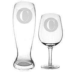 Cathy's Concepts 2-pc. Pilsner & Wine Glass Set