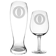 Cathy's Concepts 2 pc Pilsner & Wine Glass Set