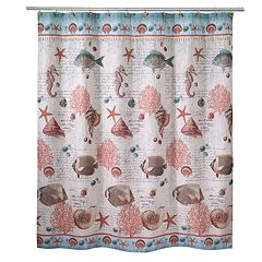 Avanti Seaside Vintage Shower Curtain