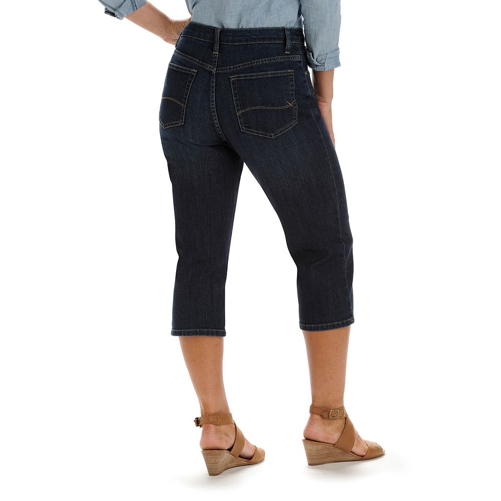 Women's Lee Relaxed Fit Denim Capris