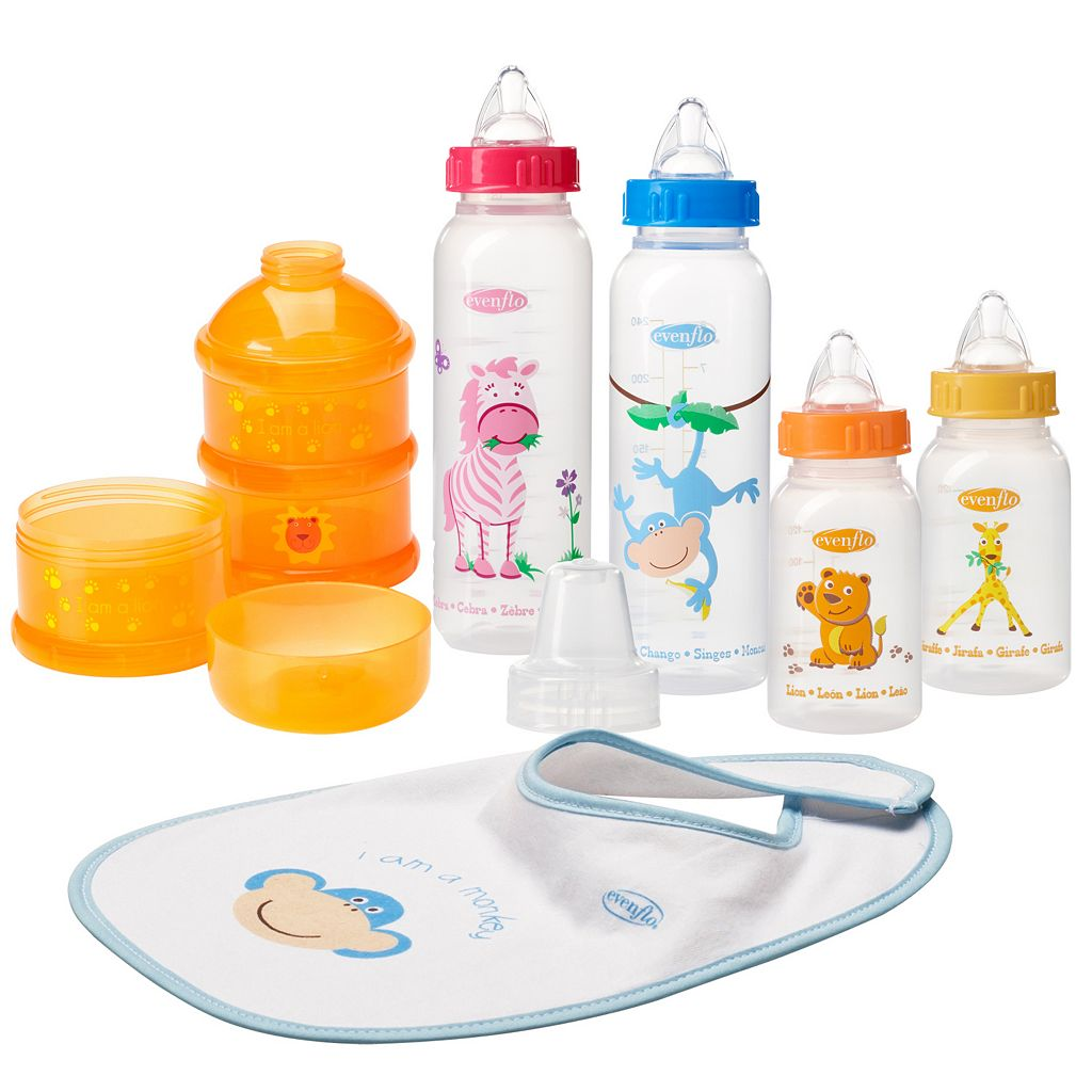 Evenflo Zoo Friends 6-pc. Infant Starter Set