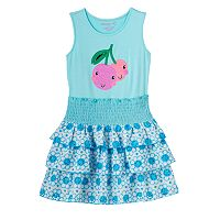 Toddler Girl Design 365 Sequin Cherry Dress