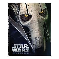 Star Wars: Episode III Revenge Of The Sith Blu-ray Steelbook