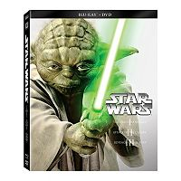Star Wars: Prequel Trilogy Episodes I-III Blu-ray Steelbook Set