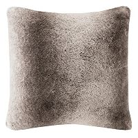 Madison Park Signature Luxury Faux Fur Throw Pillow