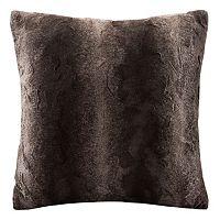 Madison Park Faux Fur Throw Pillow