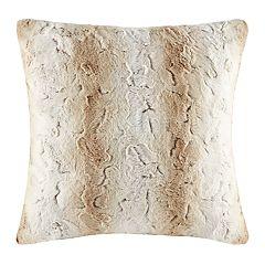 Madison Park Marselle Faux Fur Throw Pillow