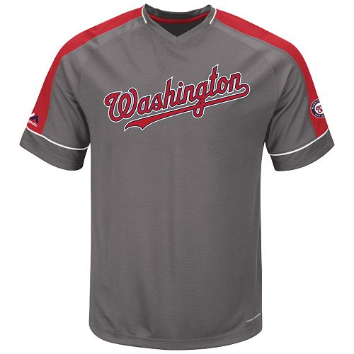 Men's Majestic Washington Nationals Dominant Campaign Tee
