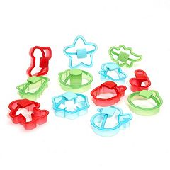 Sweet Creations 12-pc. Holiday Cookie Cutter Set
