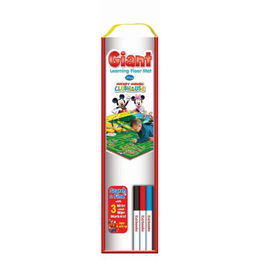 Disney's Mickey Mouse Clubhouse Giant Learning Floor Mat by Kidbooks