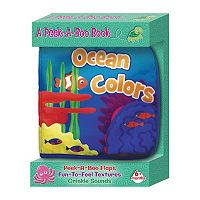 Kidsbooks Peek-A-Boo Ocean Colors Cloth Book