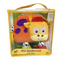Kidsbooks Jiggle & Discover Old MacDonald Plush Book