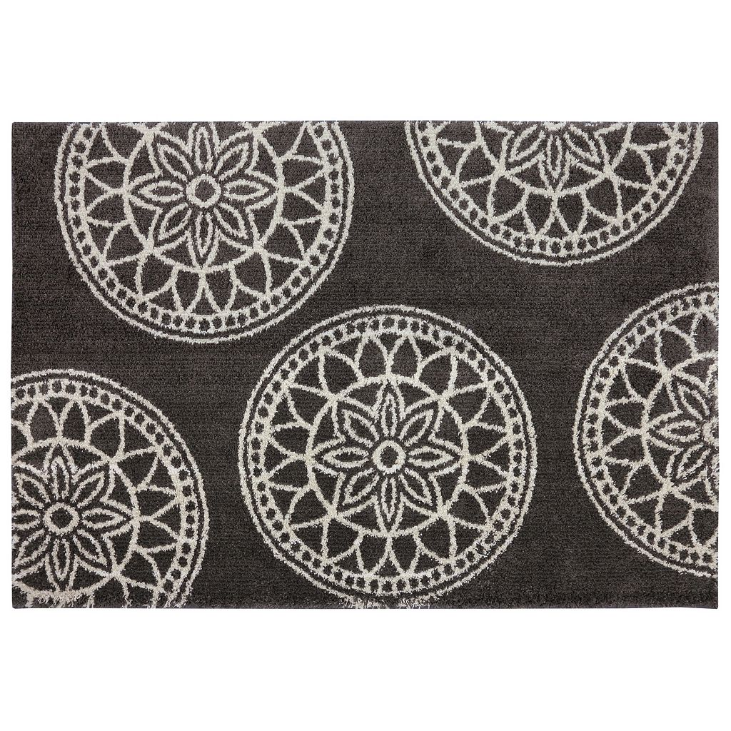 Mohawk® Home Gray Medallions Rug