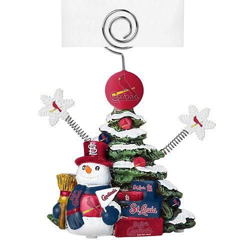 - St. Louis Cardinals Christmas Tree Photo Holder