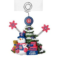 Chicago Cubs Christmas Tree Photo Holder