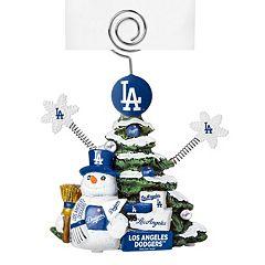 Los Angeles Dodgers Christmas Tree Photo Holder