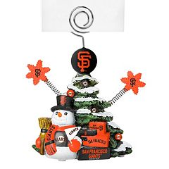 San Francisco Giants Christmas Tree Photo Holder