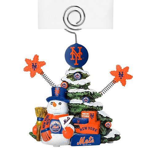 New York Mets Christmas Tree Photo Holder