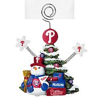 Philadelphia Phillies Christmas Tree Photo Holder