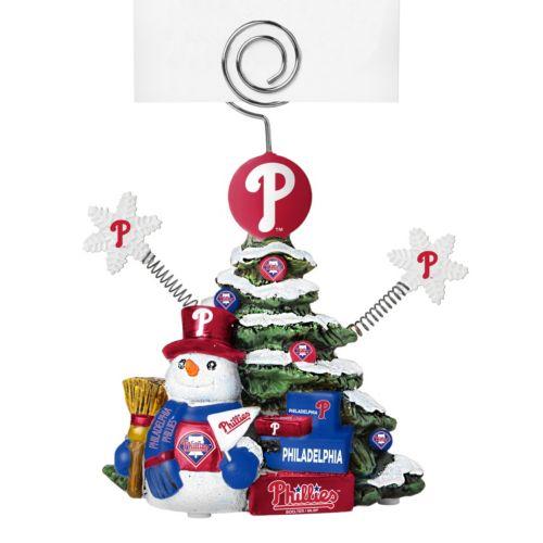 Philadelphia Phillies Christmas Tree Photo Holder