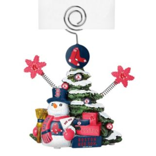 Boston Red Sox Christmas Tree Photo Holder