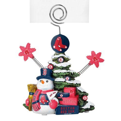 Boston Red Sox Christmas Tree Photo Holder