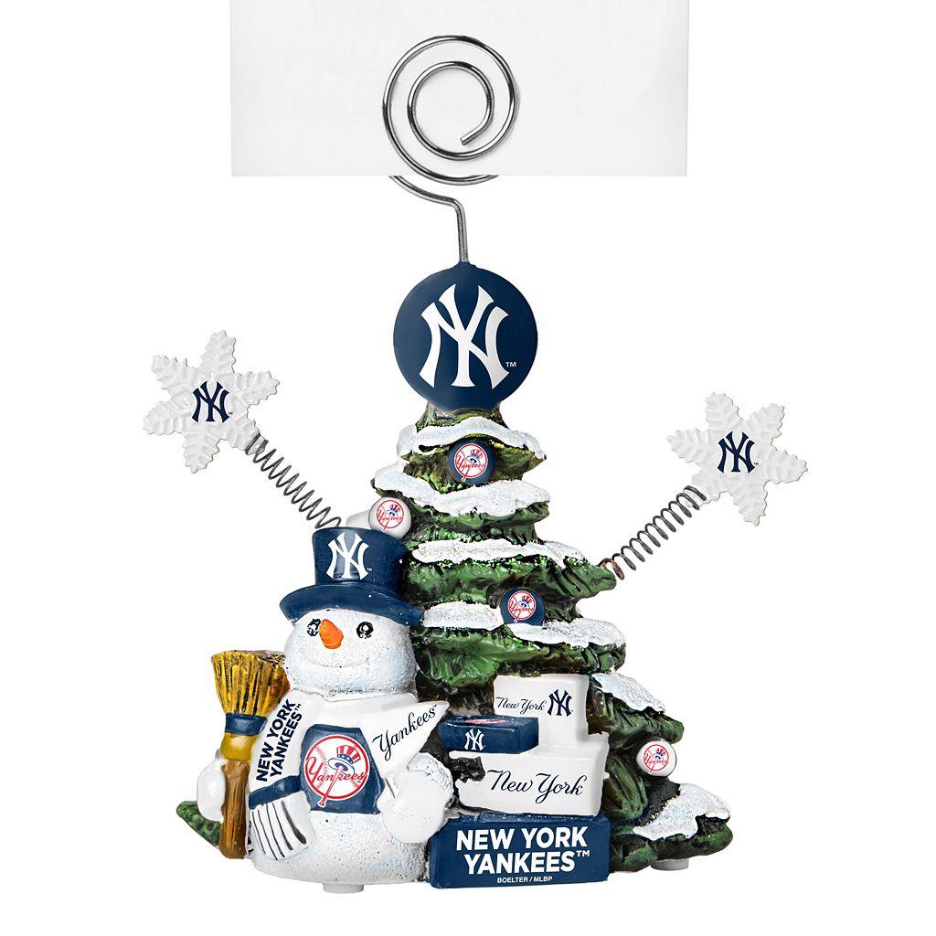 New York Yankees Christmas Tree Photo Holder