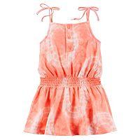 Girls 4-8 Carter's Tie-Dye Smocked-Waist Jersey Dress