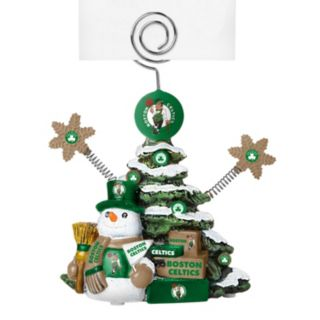 Boston Celtics Christmas Tree Photo Holder